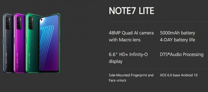 Infinix Note 7 and Note 7 Lite bring days of battery life