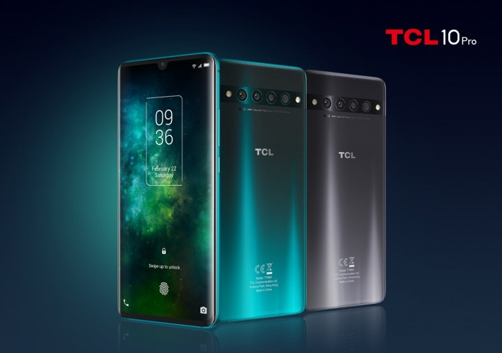 TCL 10 Pro, 10 5G and 10L unveiled with HDR10 screens, quad cameras