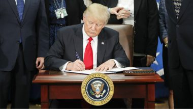 Trump Signs Deregulation Order to Boost US Economic Recovery