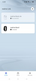 Realme Band pairing process