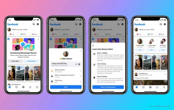 Facebook Messenger Rooms now live with free video calls for up to 50 people