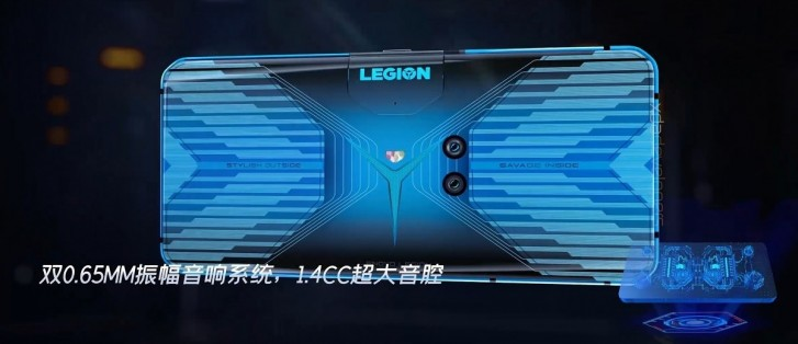 Lenovo Legion gaming phone leaks with radical design