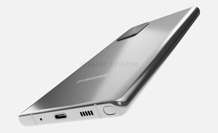 Samsung Galaxy Note 20 alleged CAD renders leak with Galaxy S20 Ultra