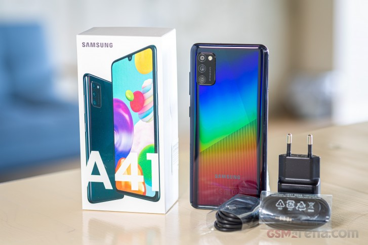 Samsung Galaxy A41 in for review