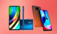 Motorola Moto E7 Plus and Moto G9 Plus surface in official renders